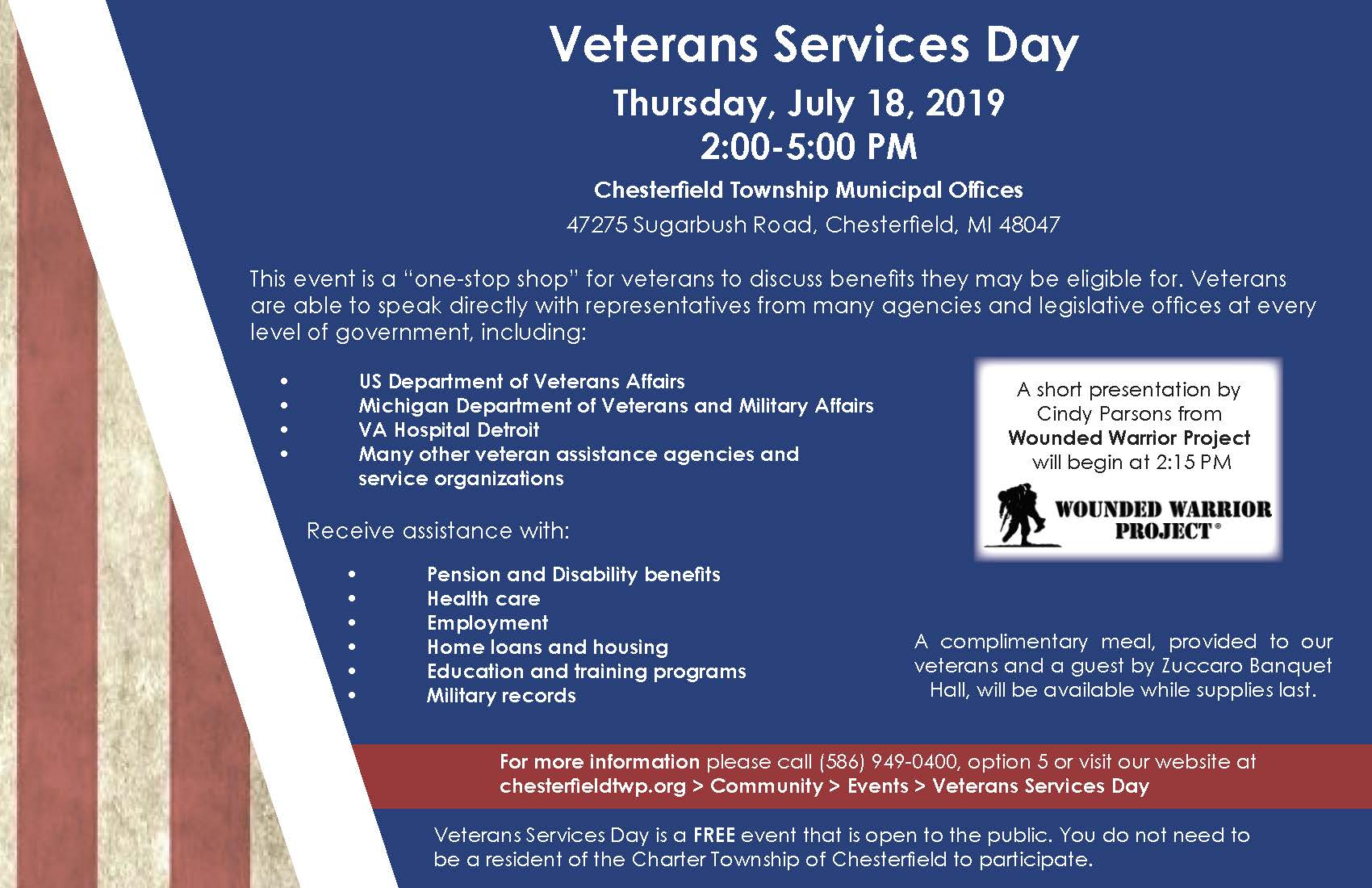 Veterans Service Day