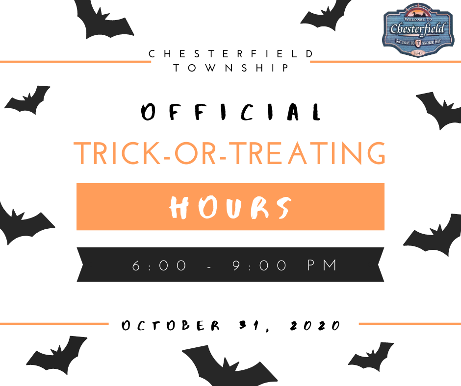 2020 Trick or Treat Hours